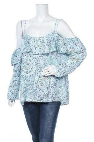 Γυναικεία μπλούζα Jeanswest, Μέγεθος XL, Χρώμα Πολύχρωμο, Βισκόζη, Τιμή 12,34€