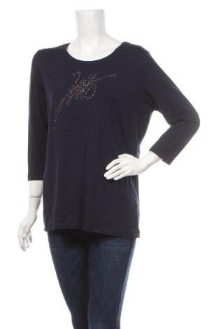 Дамска блуза Jette, Размер XL, Цвят Син, 47% памук, 47% модал, 6% еластан, Цена 17,01лв.