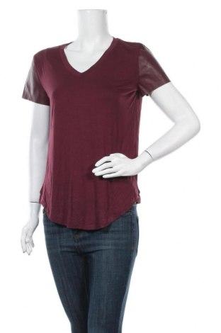 Γυναικεία μπλούζα Joe Fresh, Μέγεθος S, Χρώμα Κόκκινο, 97% βισκόζη, 3% ελαστάνη, δερματίνη, Τιμή 24,68€