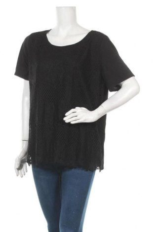 Γυναικεία μπλούζα Joe Fresh, Μέγεθος XL, Χρώμα Μαύρο, 65% πολυεστέρας, 35% βισκόζη, Τιμή 9,74€
