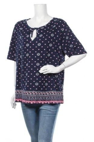 Γυναικεία μπλούζα John Baner, Μέγεθος XXL, Χρώμα Μπλέ, Βαμβάκι, βισκόζη, Τιμή 8,64€