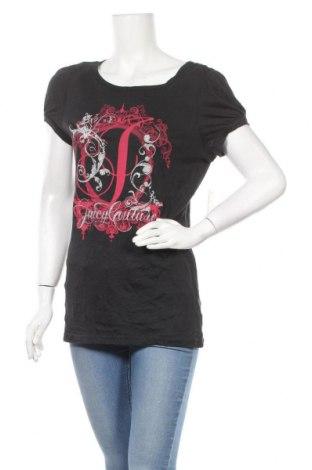Γυναικεία μπλούζα Juicy Couture, Μέγεθος L, Χρώμα Μαύρο, 50% βαμβάκι, 50% μοντάλ, Τιμή 31,82€