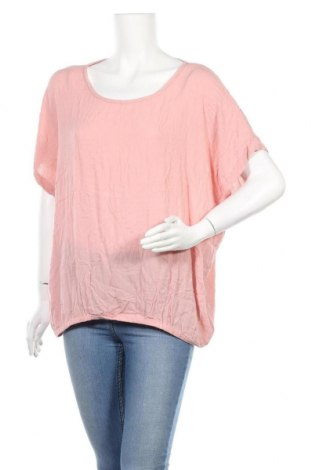 Дамска блуза Kaffe, Размер XL, Цвят Розов, 100% вискоза, Цена 30,35лв.
