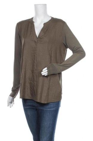 Дамска блуза Kaffe, Размер M, Цвят Зелен, 95% вискоза, 5% еластан, Цена 36,57лв.