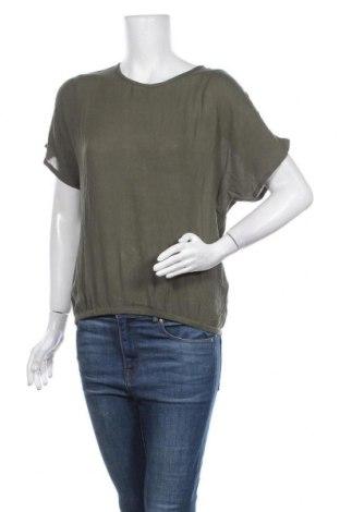 Дамска блуза Kaffe, Размер XS, Цвят Зелен, Вискоза, Цена 46,50лв.