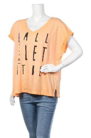 Γυναικεία μπλούζα Kenny S., Μέγεθος XXL, Χρώμα Πορτοκαλί, Βαμβάκι, Τιμή 7,50€