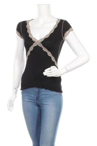 Γυναικεία μπλούζα Kookai, Μέγεθος XS, Χρώμα Μαύρο, Τιμή 9,87€
