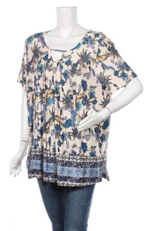 Γυναικεία μπλούζα Laura Scott, Μέγεθος XL, Χρώμα Πολύχρωμο, 95% βισκόζη, 5% ελαστάνη, Τιμή 11,69€