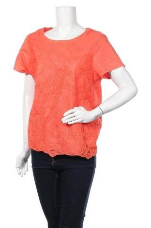 Γυναικεία μπλούζα Laura Scott, Μέγεθος XL, Χρώμα Πορτοκαλί, Βαμβάκι, Τιμή 8,77€
