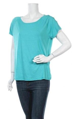 Γυναικεία μπλούζα Laura Torelli, Μέγεθος M, Χρώμα Πράσινο, 97% βισκόζη, 3% ελαστάνη, Τιμή 9,35€