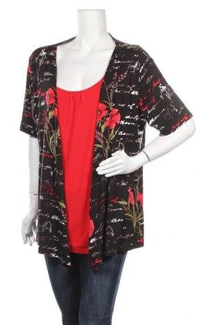 Γυναικεία μπλούζα Laura Torelli, Μέγεθος XL, Χρώμα Πολύχρωμο, 95% βισκόζη, 5% ελαστάνη, Τιμή 10,39€