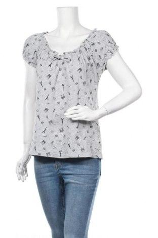 Γυναικεία μπλούζα Laura Torelli, Μέγεθος M, Χρώμα Γκρί, 95% βαμβάκι, 5% βισκόζη, Τιμή 11,04€