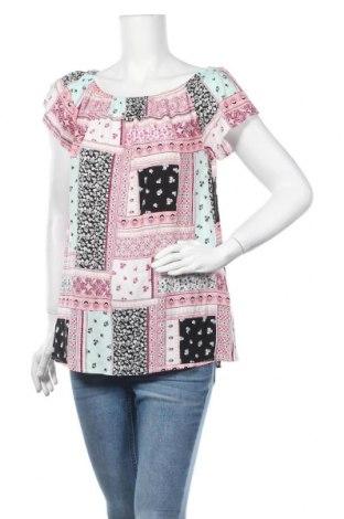 Γυναικεία μπλούζα Laura Torelli, Μέγεθος M, Χρώμα Πολύχρωμο, Βισκόζη, Τιμή 9,35€
