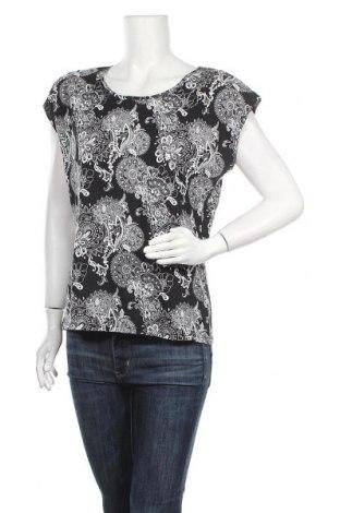 Γυναικεία μπλούζα Laura Torelli, Μέγεθος M, Χρώμα Μαύρο, Βαμβάκι, Τιμή 8,64€