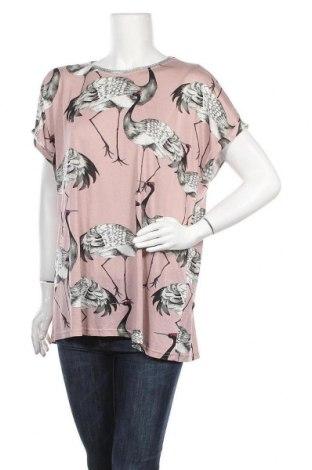 Γυναικεία μπλούζα Laura Torelli, Μέγεθος XL, Χρώμα Βιολετί, Βισκόζη, Τιμή 9,87€