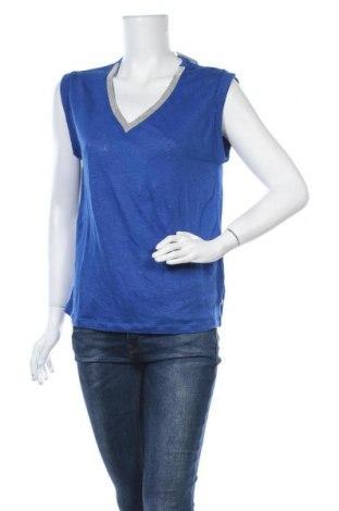 Γυναικεία μπλούζα Le Temps Des Cerises, Μέγεθος S, Χρώμα Μπλέ, Λινό, Τιμή 17,78€