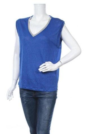 Дамска блуза Le Temps Des Cerises, Размер M, Цвят Син, Полиестер, Цена 27,30лв.