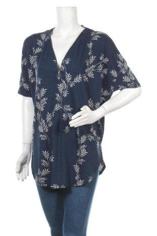 Γυναικεία μπλούζα Lindex, Μέγεθος L, Χρώμα Μπλέ, 55% lyocell, 45% βισκόζη, Τιμή 9,38€