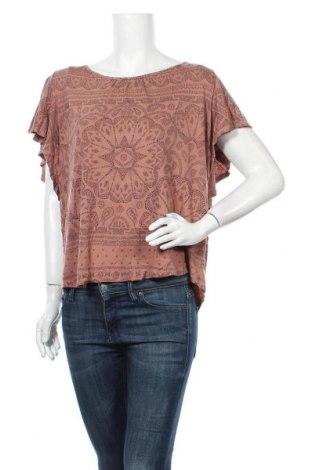 Γυναικεία μπλούζα Lindex, Μέγεθος XL, Χρώμα Καφέ, 55% lyocell, 45% βισκόζη, Τιμή 11,69€