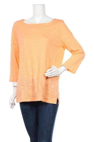 Γυναικεία μπλούζα Loft By Ann Taylor, Μέγεθος XL, Χρώμα Πορτοκαλί, Βαμβάκι, Τιμή 21,82€