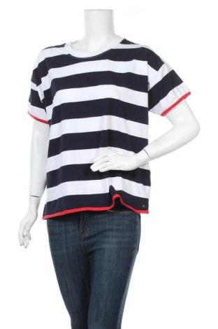Γυναικεία μπλούζα Luhta, Μέγεθος L, Χρώμα Μπλέ, 95% βαμβάκι, 5% ελαστάνη, Τιμή 34,02€