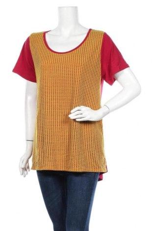Дамска блуза LulaRoe, Размер XL, Цвят Червен, 95% полиестер, 5% еластан, Цена 5,36лв.