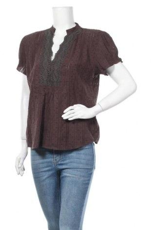 Дамска блуза Maddison, Размер L, Цвят Кафяв, Памук, Цена 14,28лв.