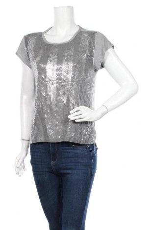 Γυναικεία μπλούζα Made In Italy, Μέγεθος M, Χρώμα Γκρί, 95% βισκόζη, 5% ελαστάνη, Τιμή 9,09€