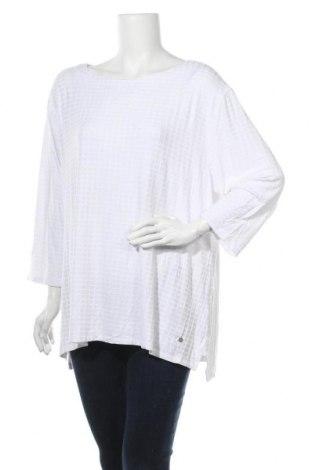 Γυναικεία μπλούζα Maggie T, Μέγεθος XXL, Χρώμα Λευκό, 95% βισκόζη, 5% ελαστάνη, Τιμή 21,59€