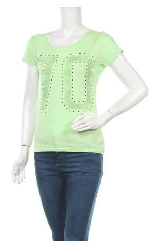 Γυναικεία μπλούζα Manguun, Μέγεθος M, Χρώμα Πράσινο, 50% βαμβάκι, 50% βισκόζη, Τιμή 10,39€