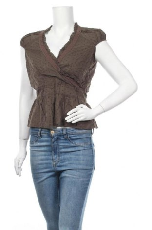 Γυναικεία μπλούζα Manguun, Μέγεθος M, Χρώμα Καφέ, Βαμβάκι, Τιμή 9,94€