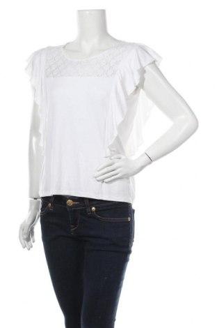 Γυναικεία μπλούζα Manguun, Μέγεθος L, Χρώμα Εκρού, 95% βισκόζη, 5% ελαστάνη, Τιμή 9,35€