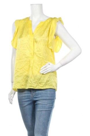 Γυναικεία μπλούζα Massimo Dutti, Μέγεθος S, Χρώμα Κίτρινο, Μετάξι, Τιμή 37,67€