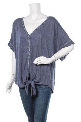 Γυναικεία μπλούζα Max Studio, Μέγεθος L, Χρώμα Μπλέ, 70% πολυεστέρας, 29% βισκόζη, 1% ελαστάνη, Τιμή 7,28€
