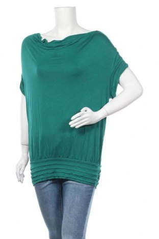 Γυναικεία μπλούζα Max Studio, Μέγεθος L, Χρώμα Πράσινο, 92% βισκόζη, 8% ελαστάνη, Τιμή 10,52€