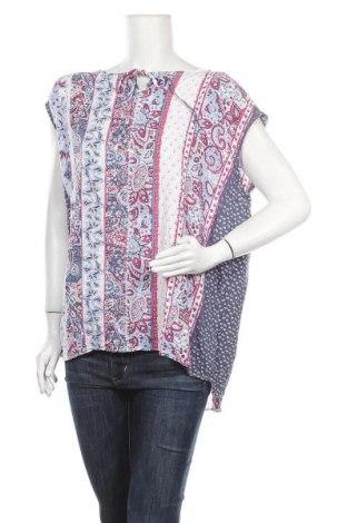 Дамска блуза Maxi Blue, Размер XXL, Цвят Многоцветен, Вискоза, Цена 17,01лв.