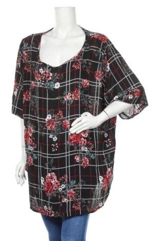 Дамска блуза Maxi Blue, Размер 3XL, Цвят Черен, Полиестер, Цена 15,12лв.