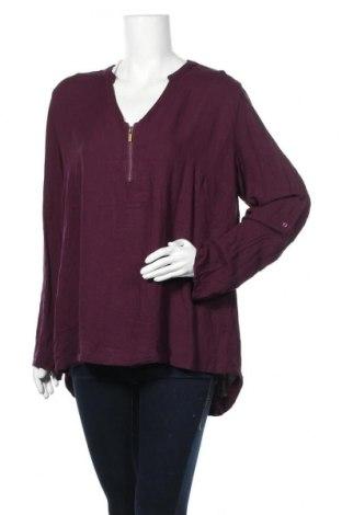 Дамска блуза Maxi Blue, Размер XL, Цвят Лилав, Цена 6,72лв.
