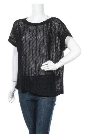 Дамска блуза Maxi Blue, Размер L, Цвят Черен, Полиестер, Цена 5,51лв.