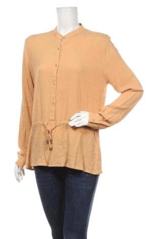 Γυναικεία μπλούζα Mbym, Μέγεθος M, Χρώμα Κίτρινο, Βισκόζη, Τιμή 19,67€