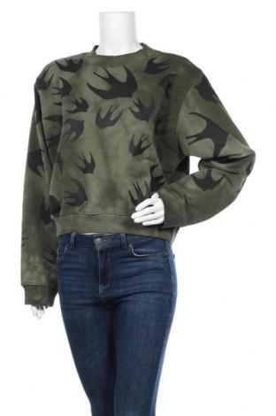 Γυναικεία μπλούζα McQ Alexander McQueen, Μέγεθος XL, Χρώμα Πράσινο, Βαμβάκι, Τιμή 91,30€
