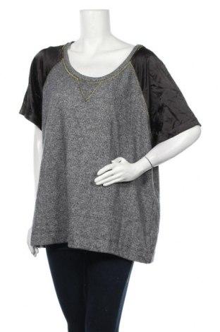Γυναικεία μπλούζα Mink, Μέγεθος XL, Χρώμα Γκρί, 66% πολυεστέρας, 34% βαμβάκι, Τιμή 11,11€