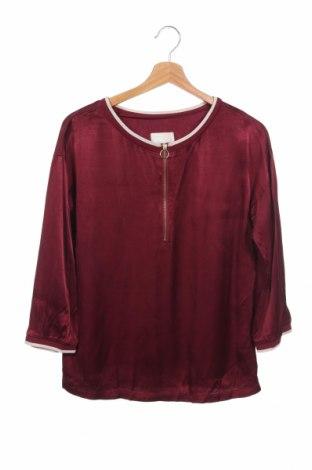 Γυναικεία μπλούζα Minus, Μέγεθος XS, Χρώμα Κόκκινο, Βισκόζη, Τιμή 6,24€