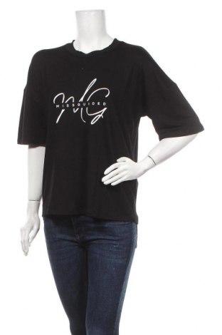 Γυναικεία μπλούζα Missguided, Μέγεθος M, Χρώμα Μαύρο, 96% βισκόζη, 4% ελαστάνη, Τιμή 13,15€