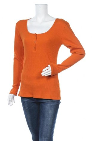 Γυναικεία μπλούζα Modstrom, Μέγεθος L, Χρώμα Πορτοκαλί, 92% βαμβάκι, 8% ελαστάνη, Τιμή 12,57€