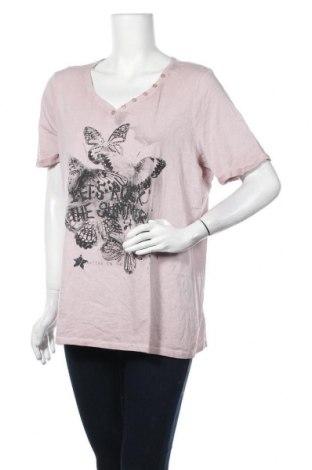 Γυναικεία μπλούζα Monari, Μέγεθος XL, Χρώμα Ρόζ , Τιμή 19,87€
