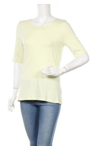 Γυναικεία μπλούζα Monari, Μέγεθος M, Χρώμα Κίτρινο, 46% βαμβάκι, 46% μοντάλ, 8% ελαστάνη, Τιμή 24,05€