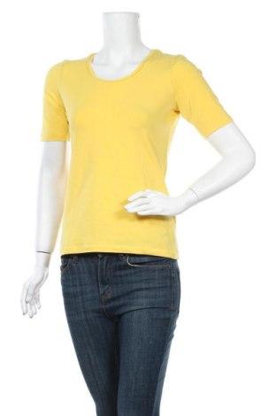 Γυναικεία μπλούζα More & More, Μέγεθος S, Χρώμα Κίτρινο, 90% βαμβάκι, 10% ελαστάνη, Τιμή 9,94€