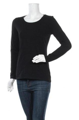Γυναικεία μπλούζα More & More, Μέγεθος L, Χρώμα Μαύρο, 90% βαμβάκι, 10% ελαστάνη, Τιμή 10,39€