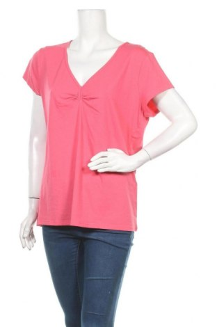 Γυναικεία μπλούζα More & More, Μέγεθος XL, Χρώμα Ρόζ , 48% βαμβάκι, 48% μοντάλ, 4% ελαστάνη, Τιμή 17,78€
